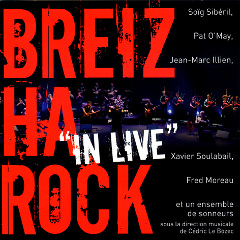 Breizharock : captation audio de concerts pour l'album In Live