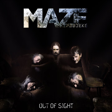 Maze Projekt : composition, arrangements, enregistrement et mastering de l'album Out Of Sight par Tyanpark Studio d'enregistrement