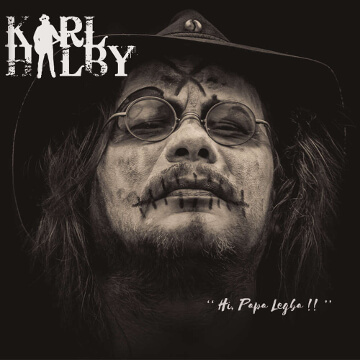 Karl Halby : co-production, enregistrement, mixage et mastering de l'album 'Hi, Papa Legba !!' par Tyanpark Studio d'enregistrement